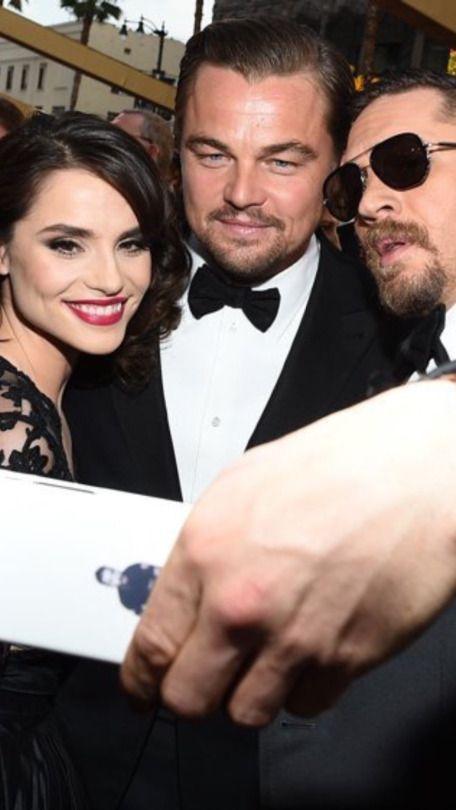 542a6716f Tom Hardy, Leo Di Caprio and Charlotte Riley at the Oscars - Feb. 28th 2016