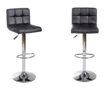 Hoker Krzesło Barowe Pikowane Obrotowe Vecotti Allegro Wnętrza