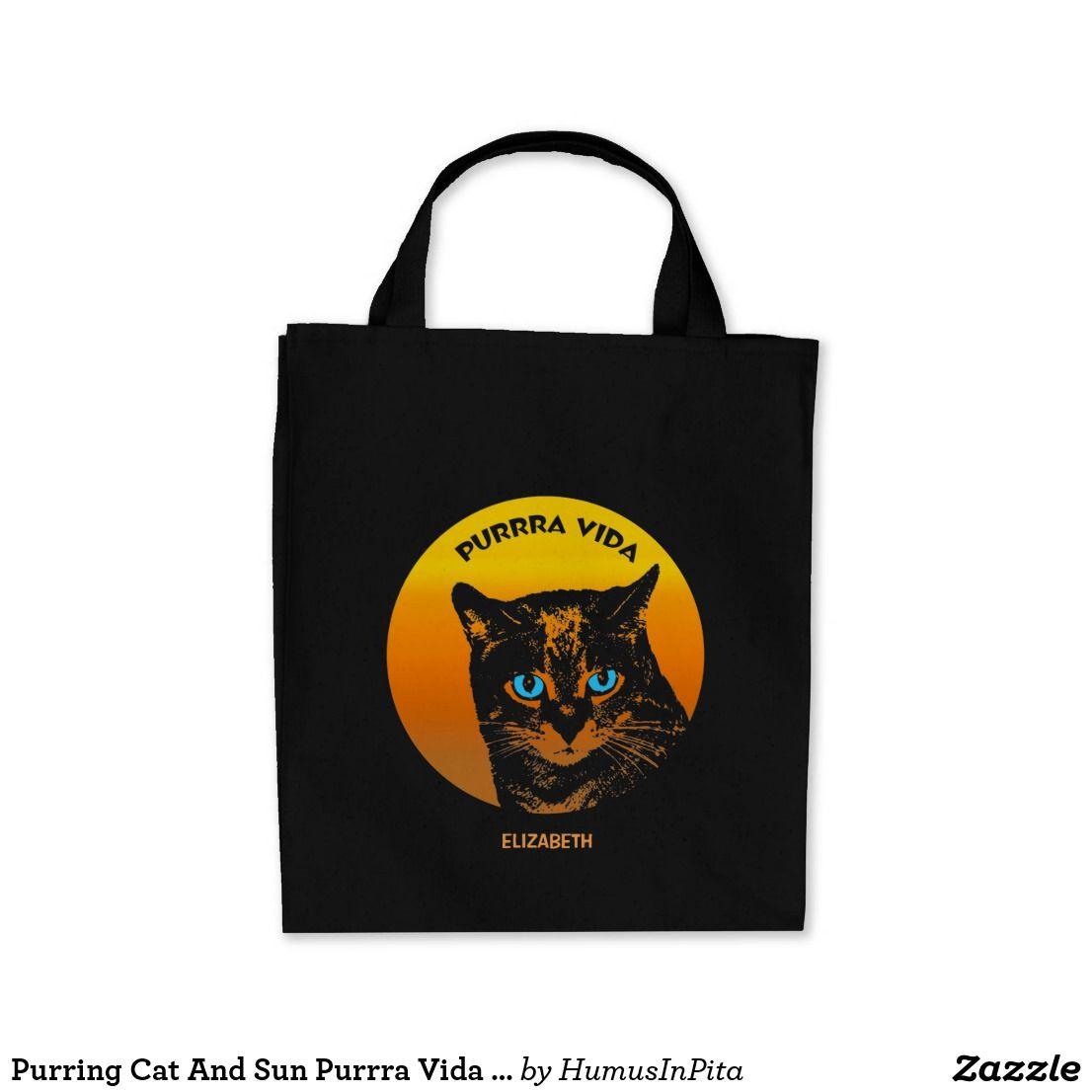 Tote Bag - Cat tote by VIDA VIDA o6sJrP9cET