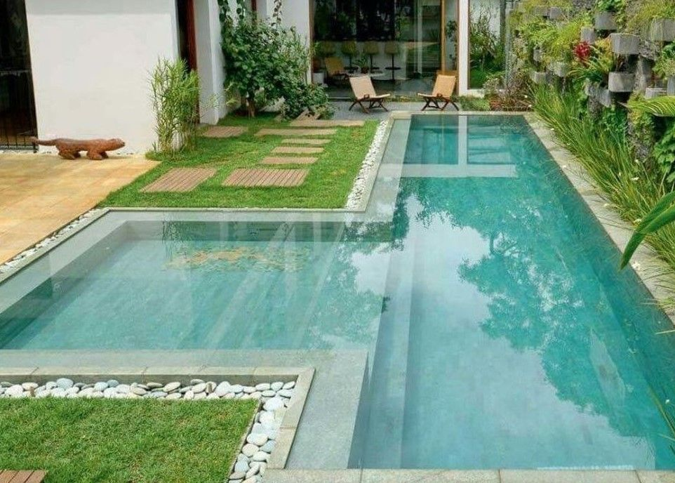 40 Creative Ideas For Small and Narrow Swimming Pools in ...