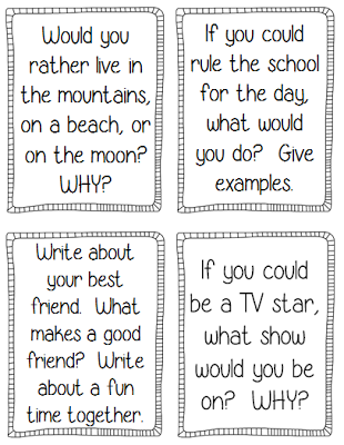 4th grade writing prompts staar