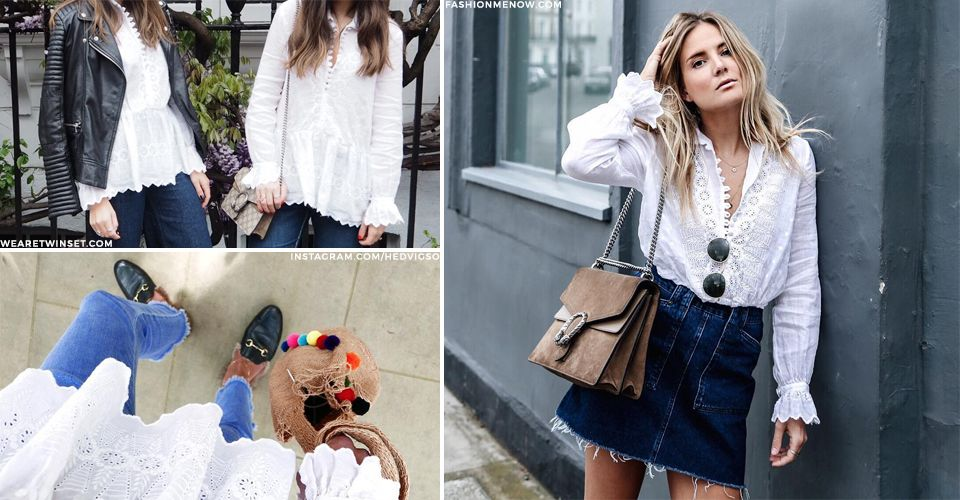 Hot Product: The White Boho Blouse | sheerluxe.com