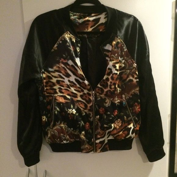 LF bomber jacket Edgy/cool bomber jacket from LF LF Jackets & Coats