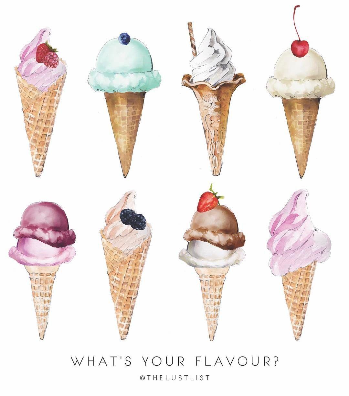 Icecreames Wallpaper On Tumblr: What's Your Flavour? #thelustlist #desserttime