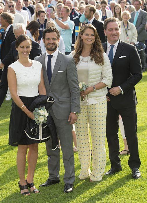 Princess Sofia, Prince Carl Philip, Princess Madeleine and Chris O'Neill