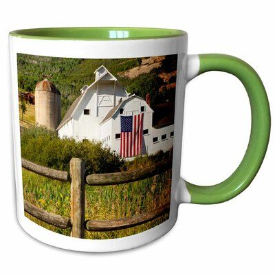 Symple Stuff Glowacki Mcpolin-Osguthorpe Barn in Park City Utah USA Brian Jannsen Coffee Mug Color: Red #utahusa