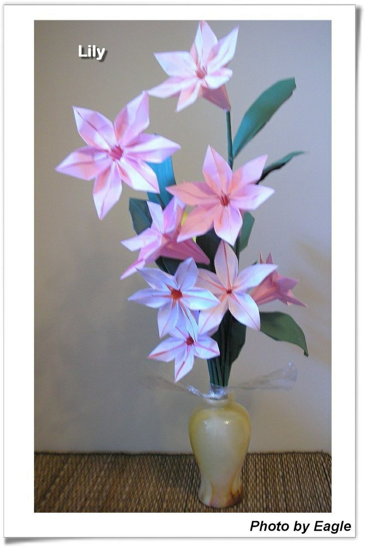 摺紙教學 百合花 Lily | Eagle 摺紙: