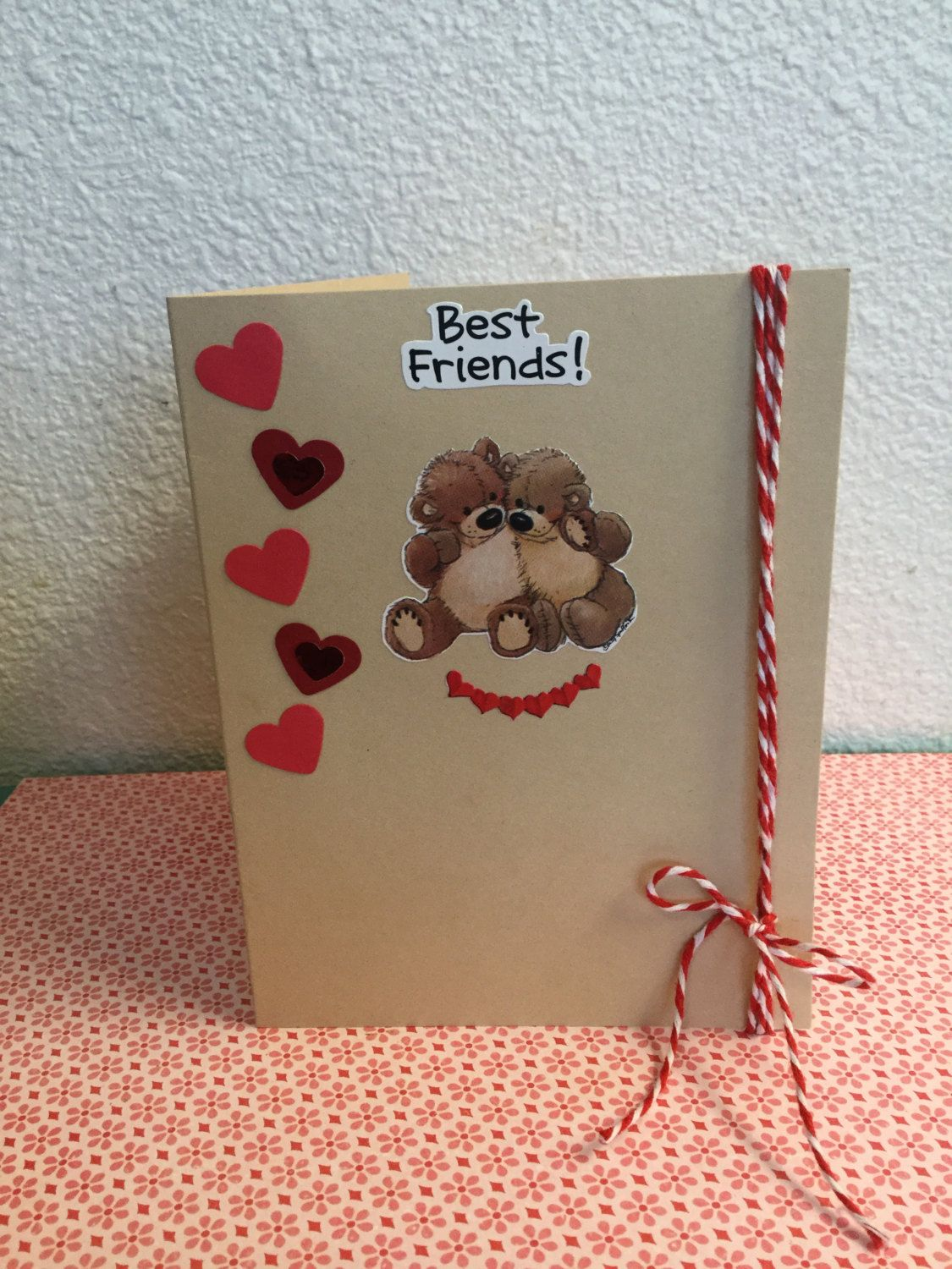 handmade valentine's day cardcemfloral on etsy  cards