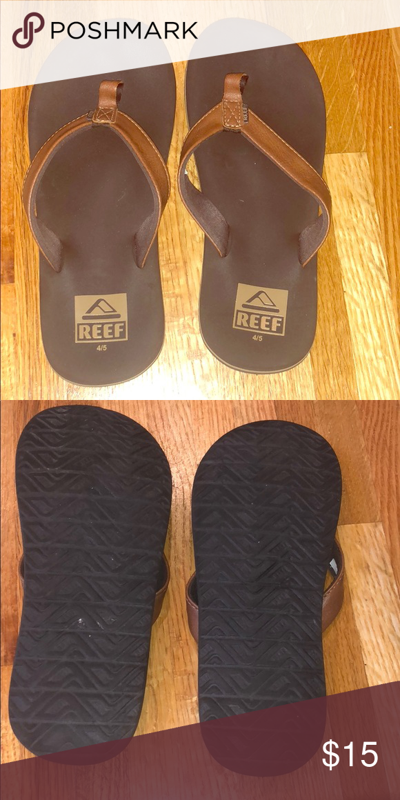 Boys REEf Sandals Flip Flops Leather