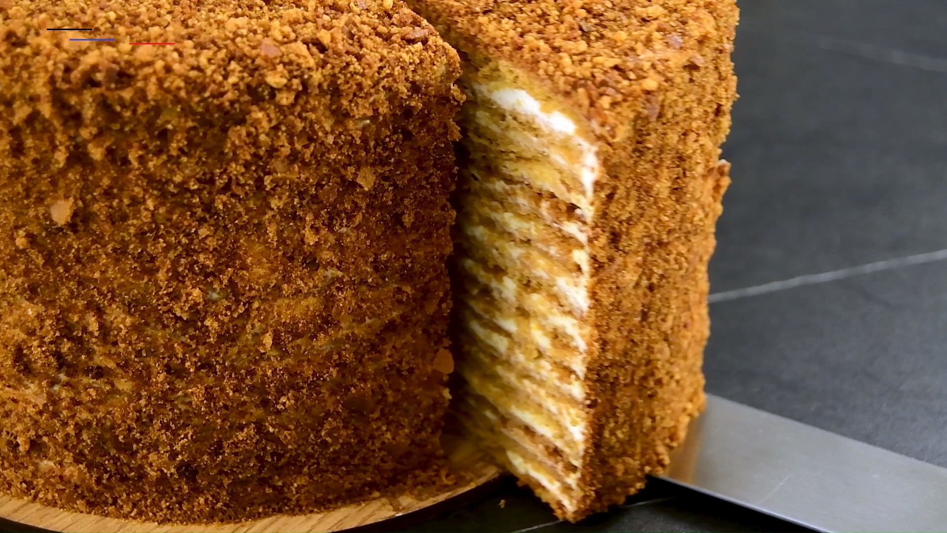 Best Medovik Recipe Russian Honey Cake How To Make Honeycake Medovik Is A Classic Russian Honey Cake Mad Russischer Honigkuchen Honigkuchen Susse Kuchen