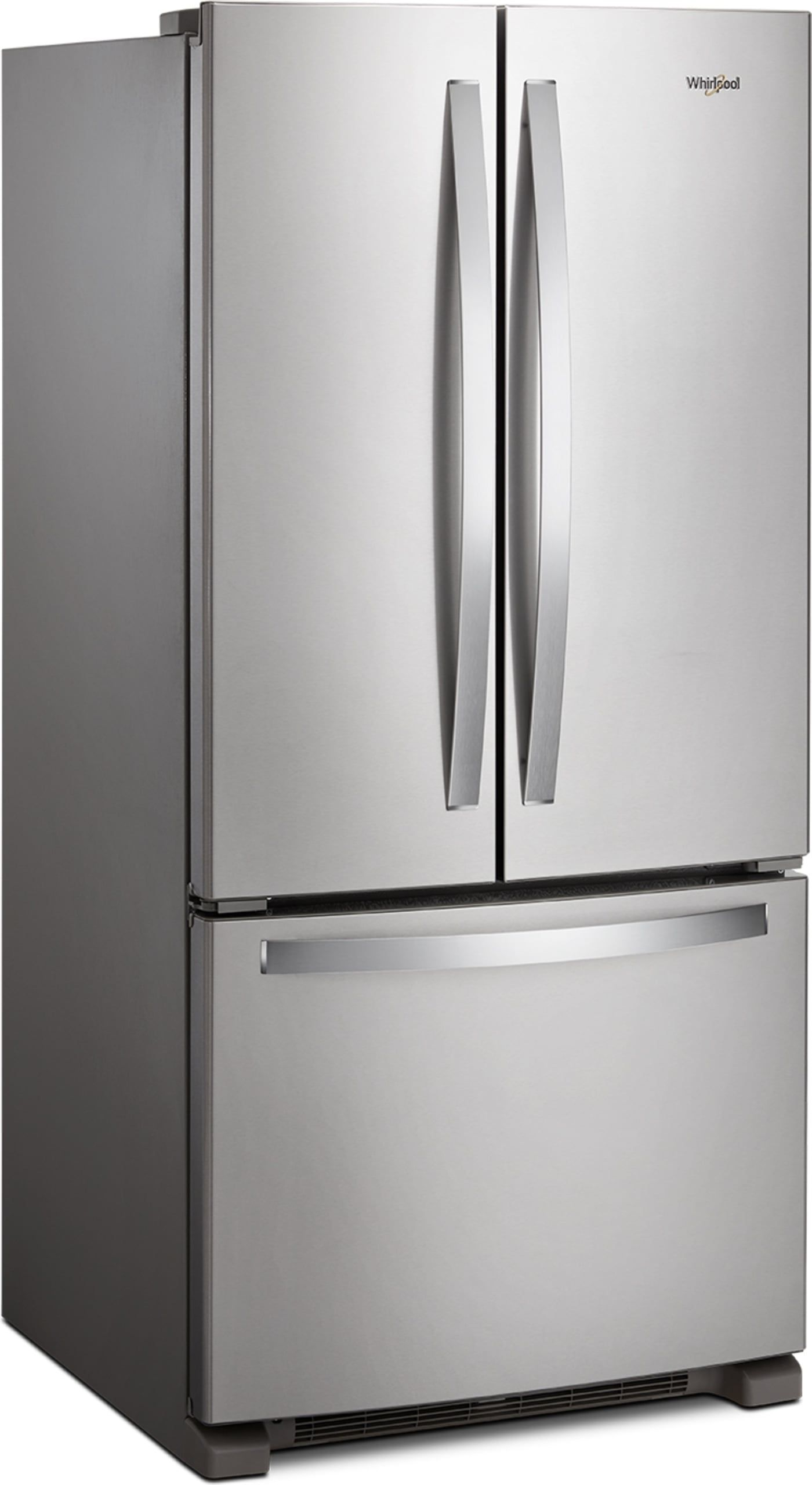Wrf532smhz By Whirlpool French Door Refrigerators Goedekers Com Stainless Steel French Door Refrigerator French Doors Old Refrigerator