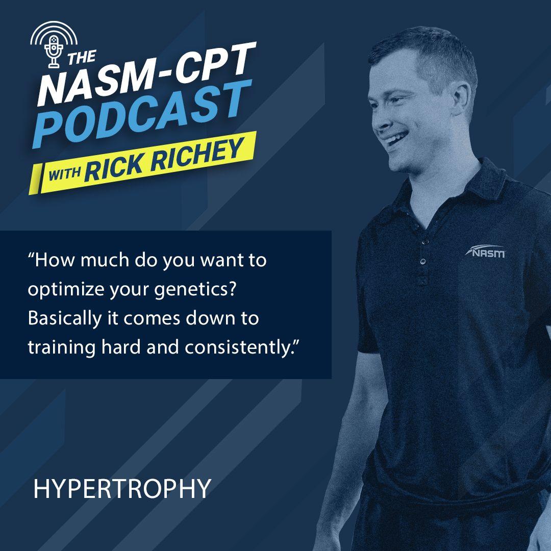 NASM Podcast Hypertrophy Nasm cpt, Sports performance