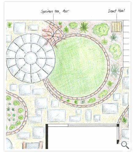 Green Man Gardens Garden Design In Exeter Devon Circular Garden Design Garden Design Layout Garden Design Plans