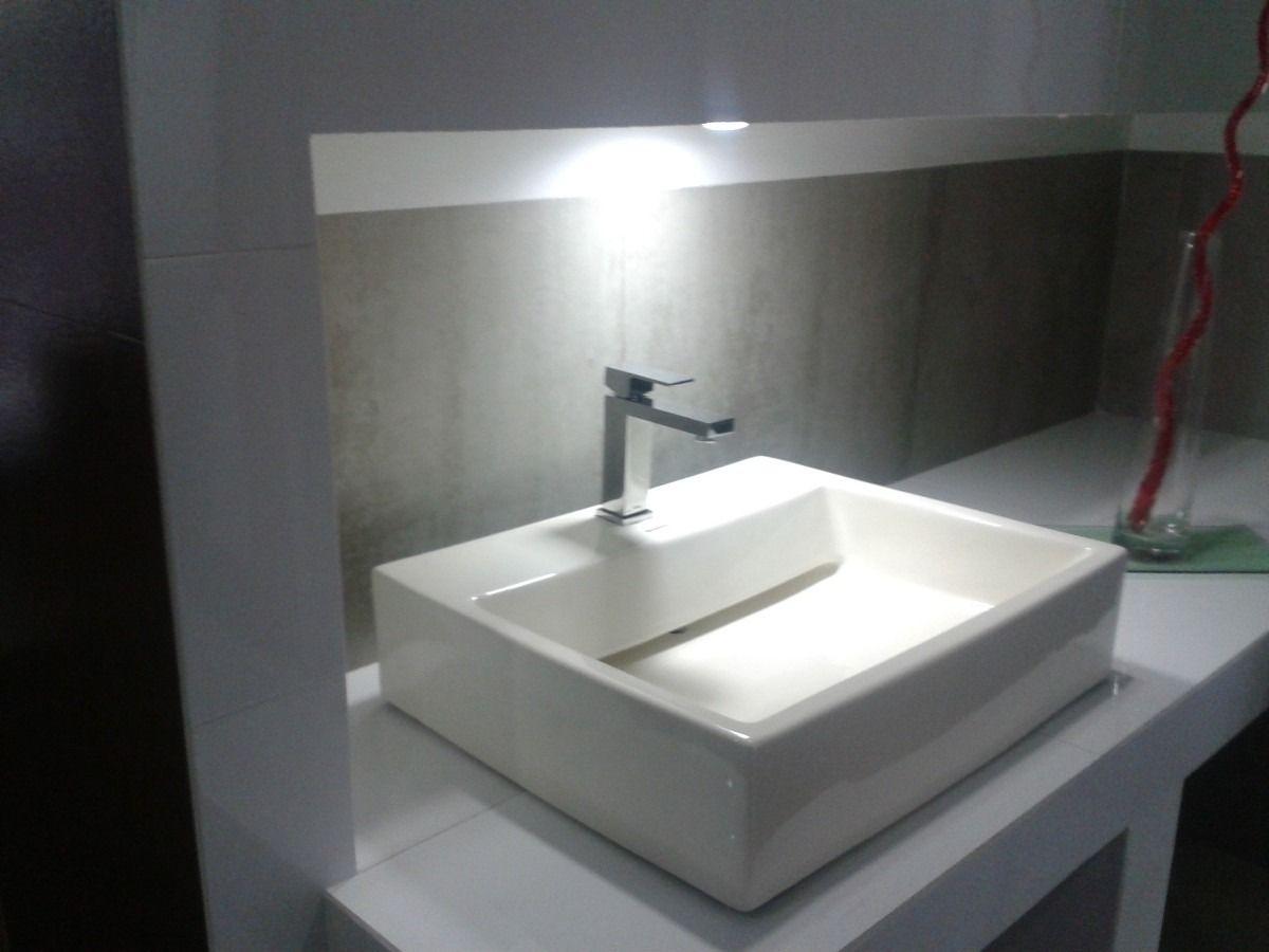 Lavabo pl003tendenzza rectangular hueso 1 for Lavabo rectangular