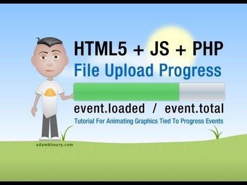 Staged - File Upload Progress Bar Meter Tutorial HTML5 Ajax