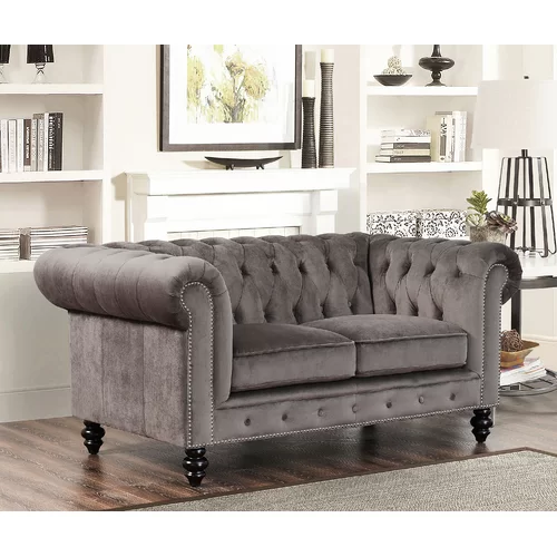 Causeuse Chesterfield Brooklyn Chesterfield Mobilier De Salon Et Decoration Victorienne