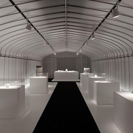 International triennale of kogei by nendo inspiring retail design design display for International interior design exhibition