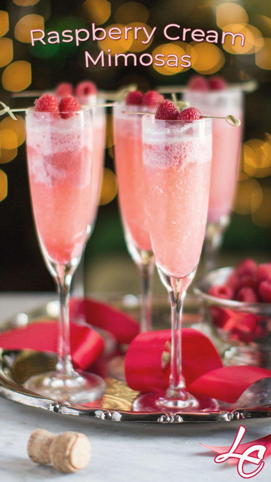 Photo of Raspberry Cream Mimosas