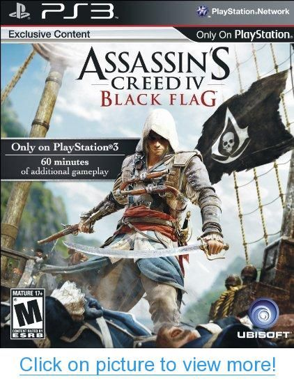 Assassin S Creed Iv Black Flag Playstation 3 With Images