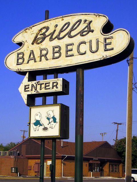 Bill S Barbecue Richmond Va Richmond Old Neon Signs Richmond
