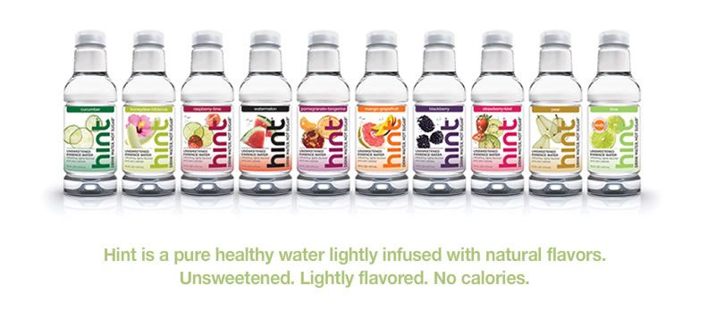 Water And Flavor No Calories And No Artificial Sugar Tastes Amazing Just Like It Says Its Just A Hin Hint Water Natural Flavored Water Fruit Infused Water