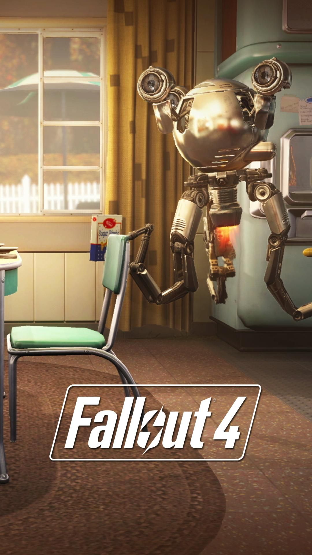 I made some Fallout 4 lock screen wallpapers from E3