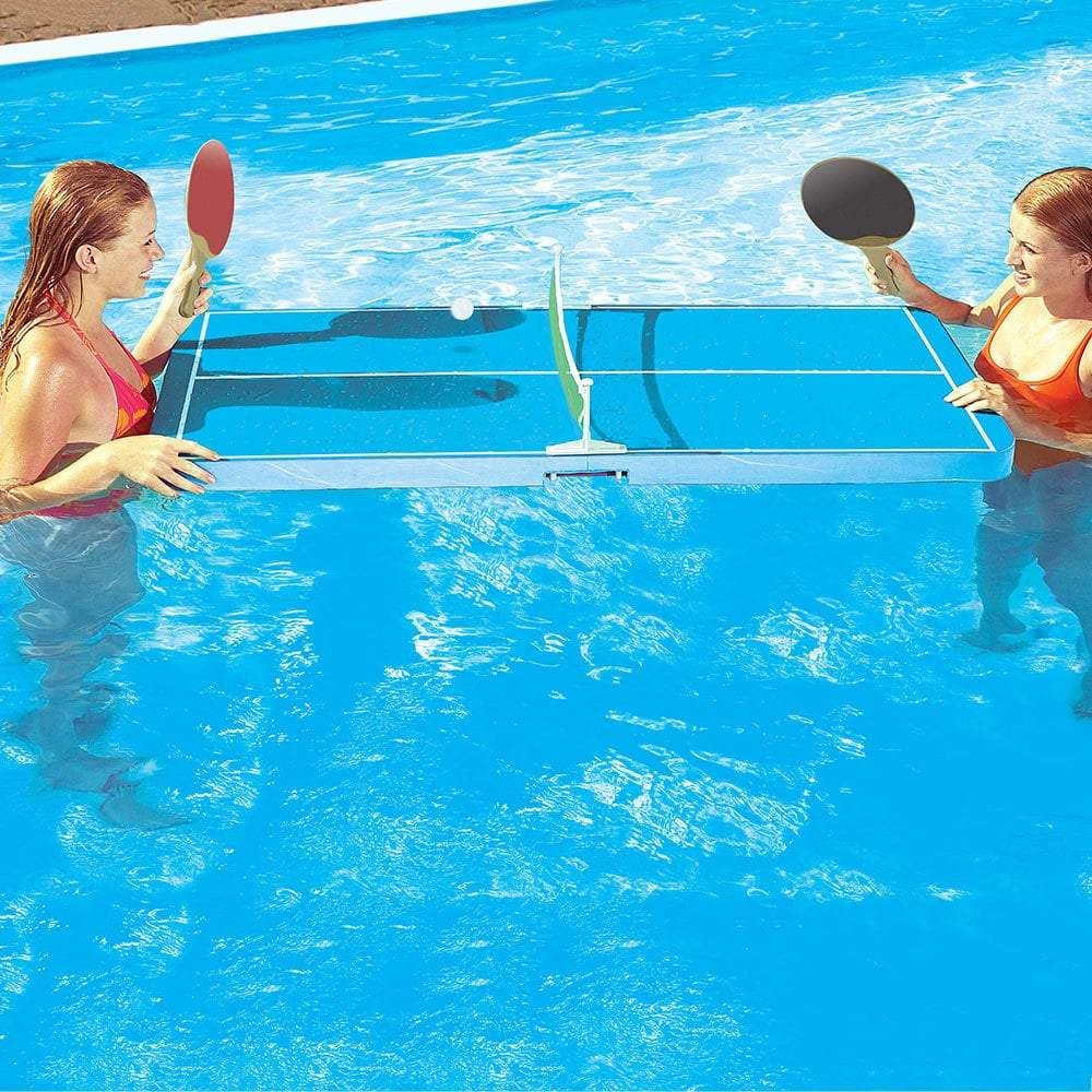 New Arrival Swimming Floating Ping Pong Table Swimming Pool Toy