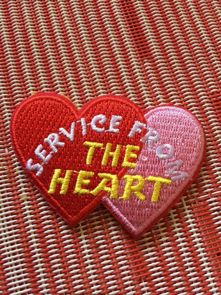 Girl Scout SERVICE FROM THE HEART Fun Patches | GS resources | Pinterest