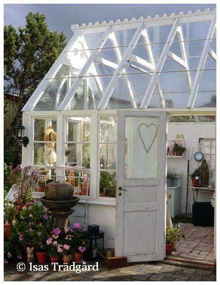 Isas Trädgård: Växthus
