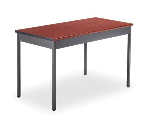 OFM UT2448-CHY Utility Table, 24 by 48-Inch, Cherry Add a stylish