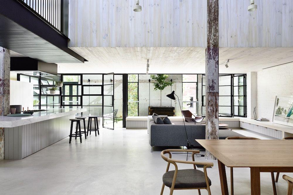 Industrial architecture modern interior loft ideas warehouse