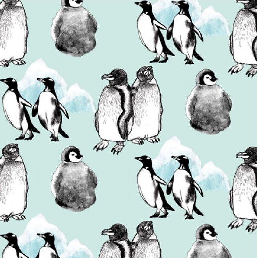 Kate Usher Penguin Love Wallpaper