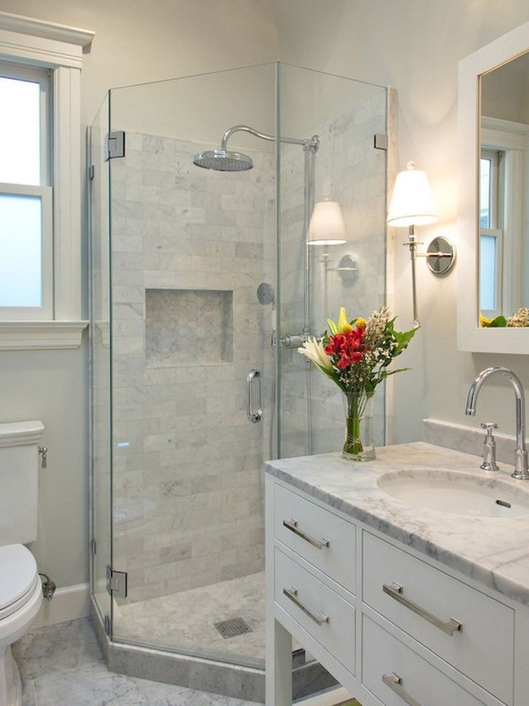 75 beautiful small bathroom shower remodel ideas bathroom rh pinterest com