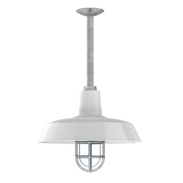 Original Warehouse Pendant Light: Original™ Stem Mount Pendant