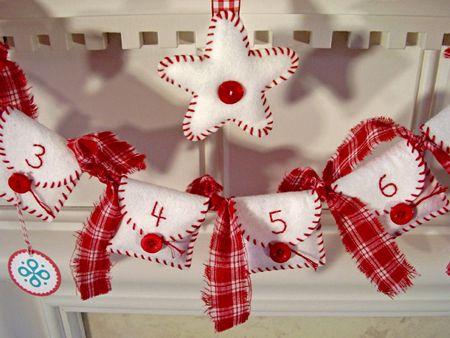 adornos originales para navidad calendario de adviento