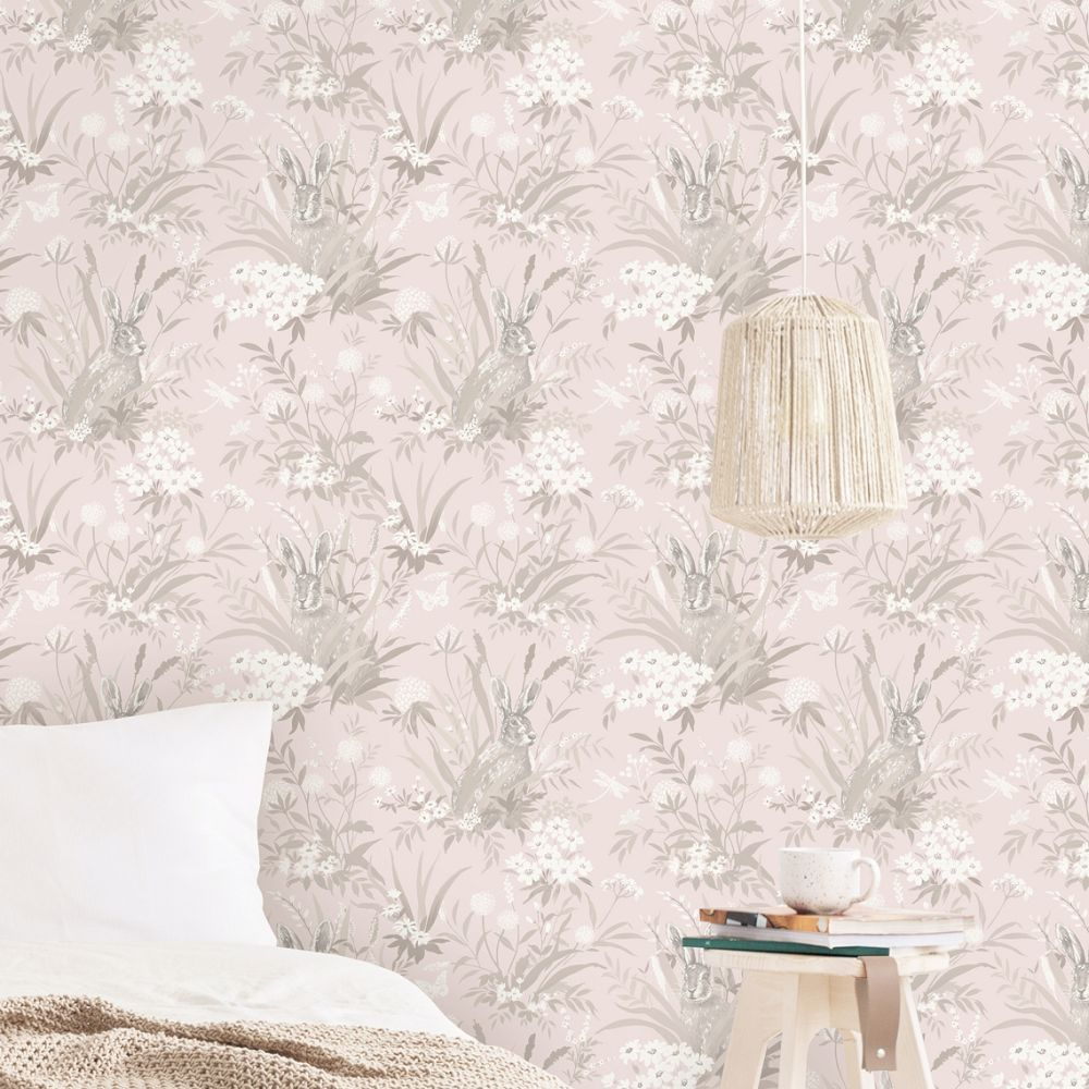 Countryside By Albany Pink Wallpaper 90810 Riverside
