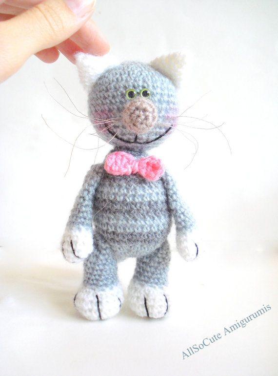 Amigurumi Cat Pattern Crochet tutorial Patterns by AllSoCute, $3.00 ...