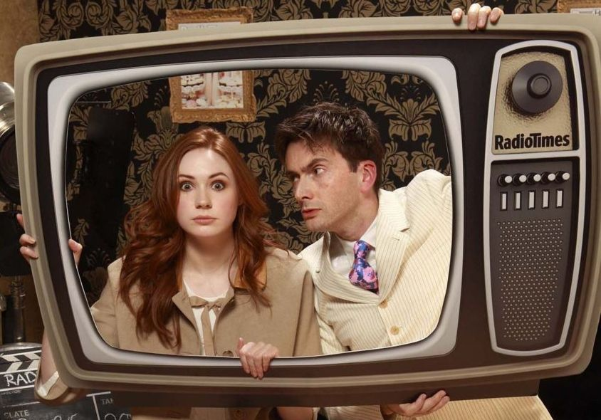 David Tennant (Ten) & Karen Gillan (Amy Pond)