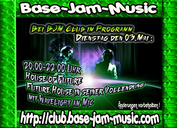 Kommt am Dienstag in den Club von BJM ,das ist Party ,das ist Spass ,abgedanct und los gehts auf http://club.base-jam-music.com