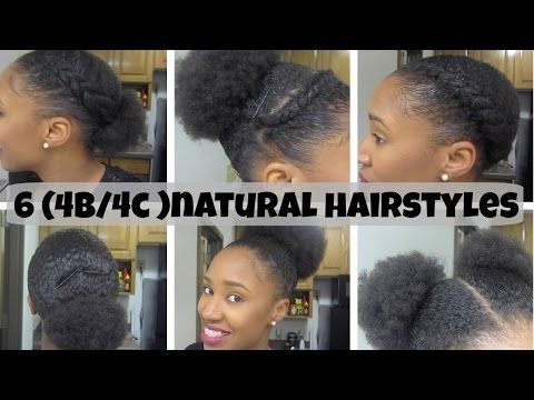 10 Quick Amp Easy Natural Hairstyles Under 60 Seconds For Short X2f Medium Natural Hair Natural Hair Styles Easy Short Natural Hair Styles 4c Natural Hair