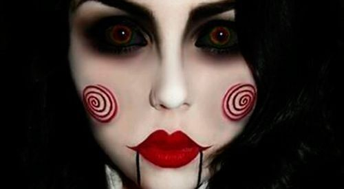 cmo maquillarse para halloween aprende cmo maquillar a una mujer para la fiesta de halloween - Como Maquillarse En Halloween