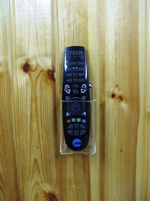 Tv Cable Or Satellite Decoder Receiver Remote By Hiprogress Tv Remote Holder Remote Holder Remote Control Holder