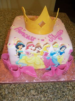 Disney Princess Cake My Cakes Pinterest Princess Cake and