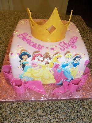 Princess Cake With Images Disney Princess Cake Princess