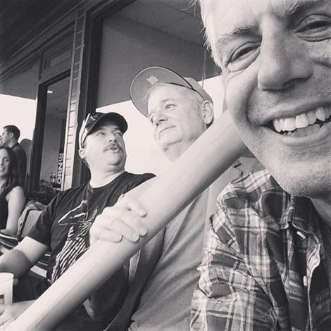 Danny McBride, Bill Murray, and Anthony Bourdain