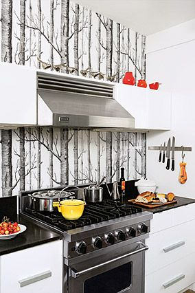 Where The Wild Things Are Simple Kitchen Kitchen Wallpaper Kitchen Design