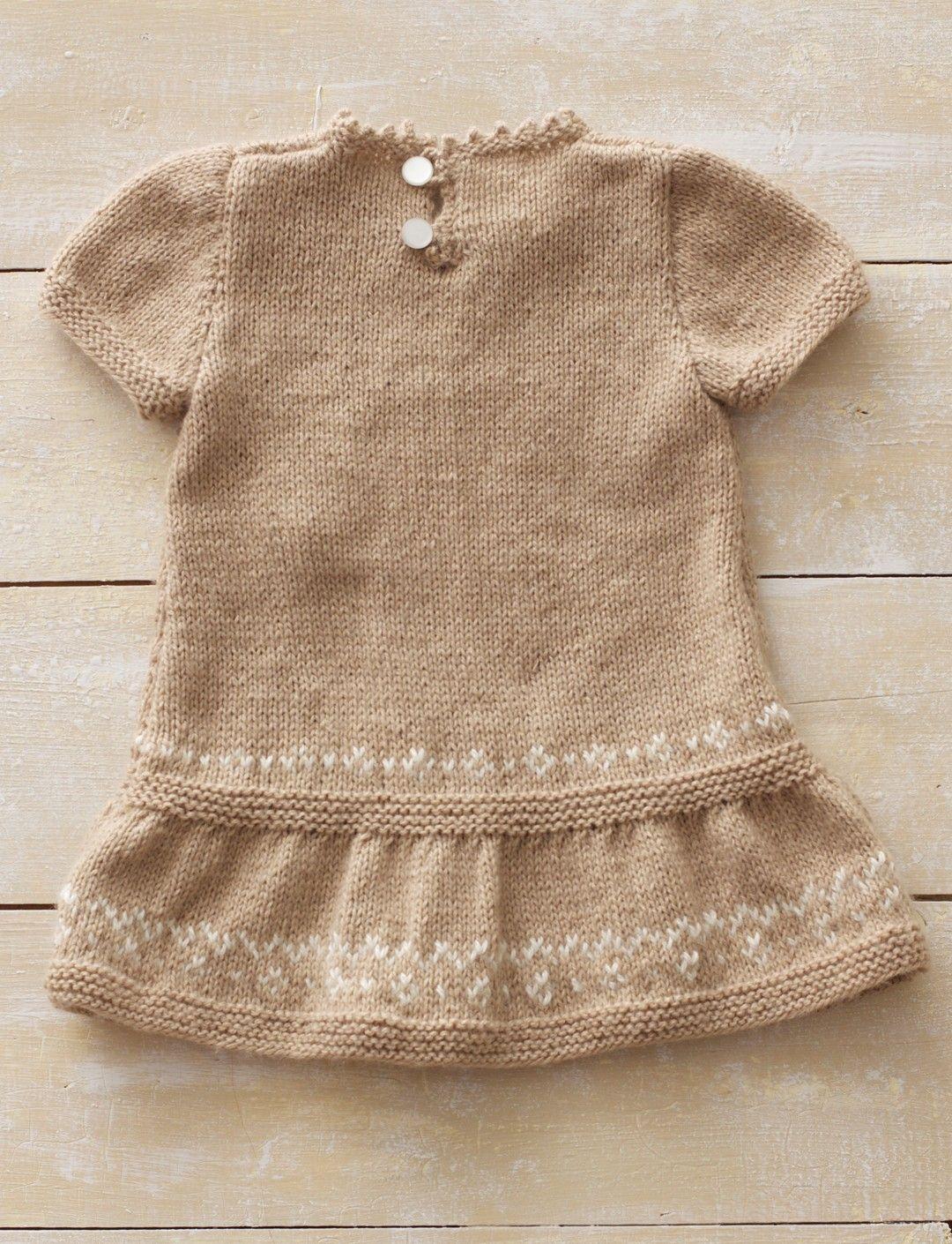 free pattern...Yarnspirations.com - Bernat Honey Bunny Dress ...