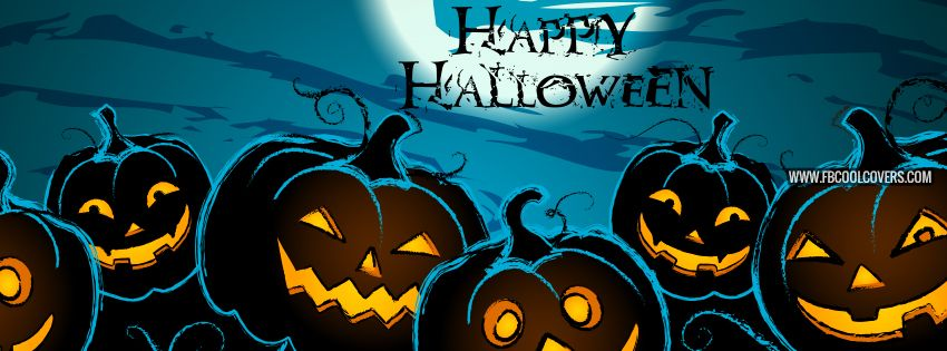 Happy Halloween Facebook Covers For The Timeline Profile With