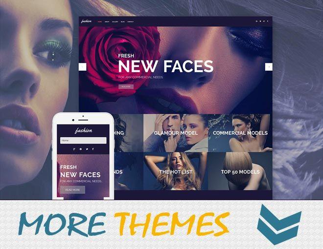 Fashion WordPress Theme Wordpress Website Responsive Templates - Buy wordpress templates