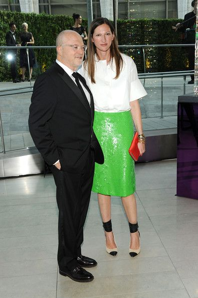 Jenna Lyons with Mickey Drexler.